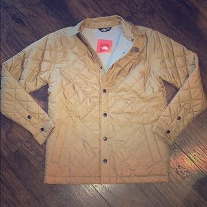 The north face Sherpa quilted jacket sizes S & L
